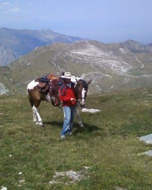Trekking a cavallo - maneggio provincia Brescia